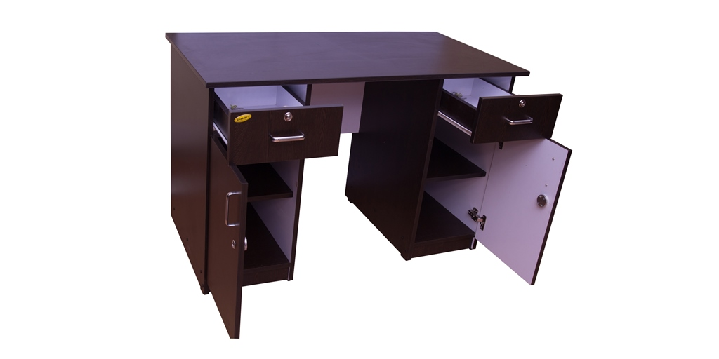 Study Cum Office Table Ft X Ft WoodWorx - 4 ft office table